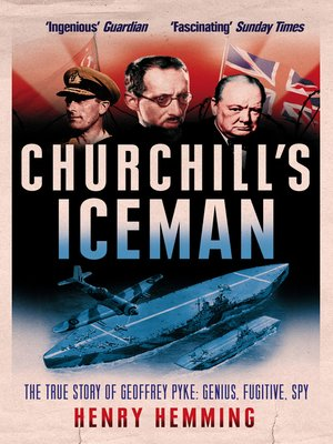 cover image of Churchill's Iceman