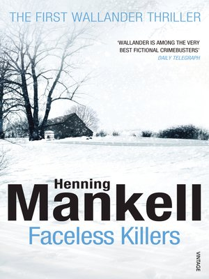 cover image of Faceless Killers