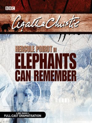cover image of Elephants Can Remember