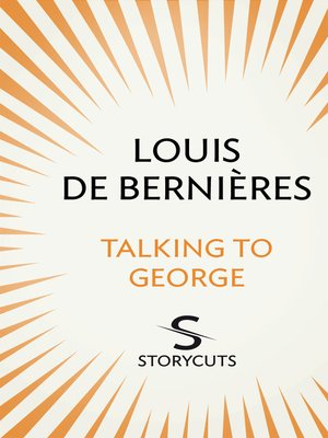cover image of Talking to George