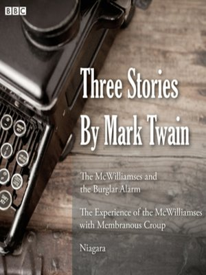 cover image of Three Stories by Mark Twain