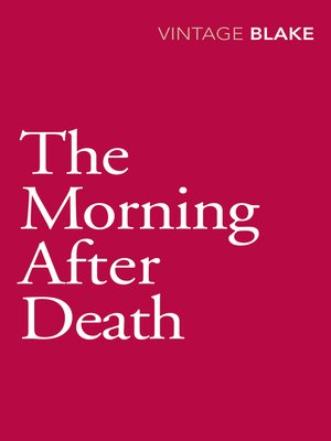 cover image of The Morning After Death