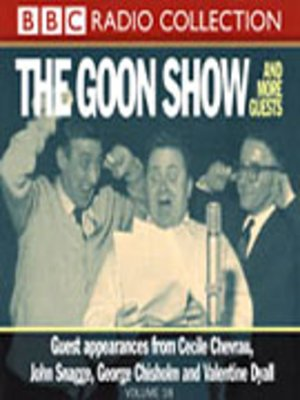 cover image of Goons and More Guests