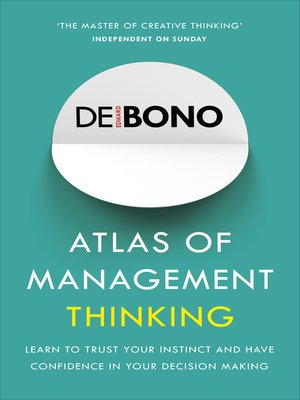 cover image of Atlas of Management Thinking