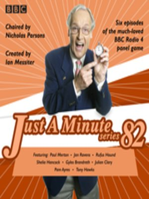 cover image of Just a Minute, Series 82