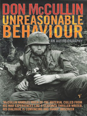 cover image of Unreasonable Behaviour