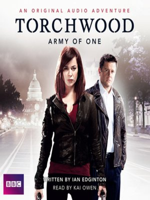 cover image of A Torchwood Adventure Army of One