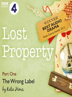 cover image of Lost Property: The Wrong Label