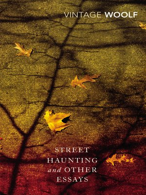 cover image of Street Haunting and Other Essays