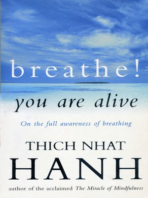 cover image of Breathe! You Are Alive