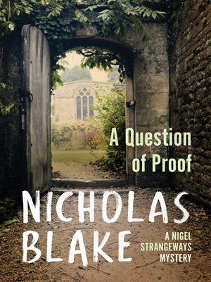 cover image of A Question of Proof