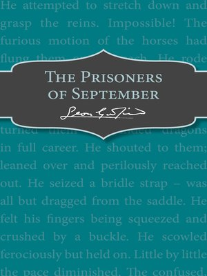 cover image of The Prisoners of September