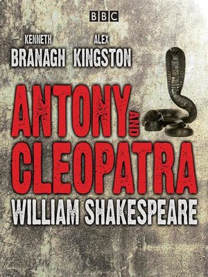 cover image of Antony and Cleopatra