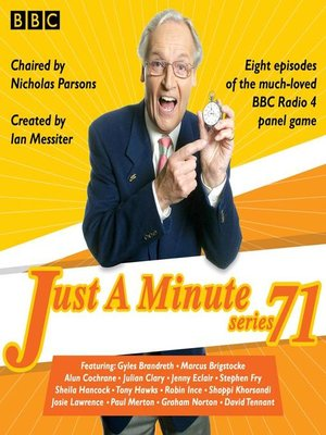 cover image of Just a Minute, Series 71
