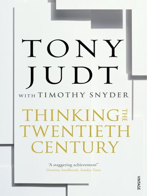 cover image of Thinking the Twentieth Century