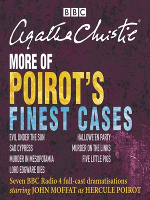 cover image of More of Poirot's Finest Cases