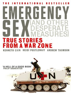cover image of Emergency Sex (And Other Desperate Measures)