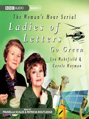 cover image of Ladies of Letters Go Green