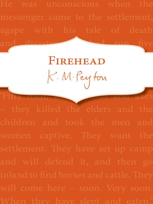 cover image of Firehead