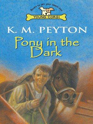 cover image of Pony in the Dark