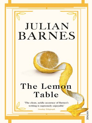 cover image of The Lemon Table