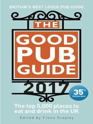 cover image of The Good Pub Guide 2017