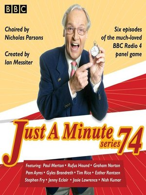 cover image of Just a Minute, Series 74
