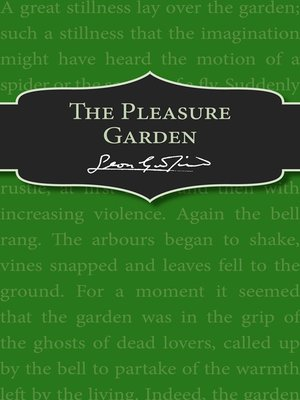 cover image of The Pleasure Garden