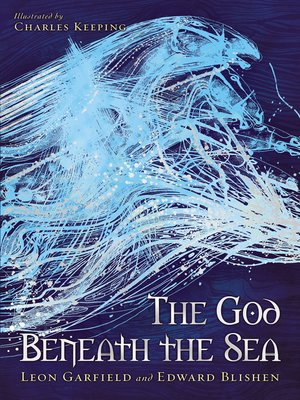 cover image of The God Beneath the Sea