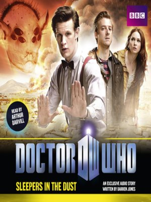 cover image of Doctor Who--Sleepers In the Dust