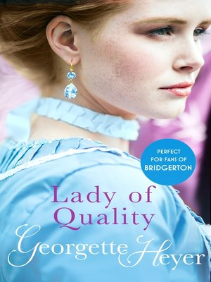 cover image of Lady of Quality
