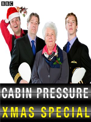 cover image of Cabin Pressure at Christmas