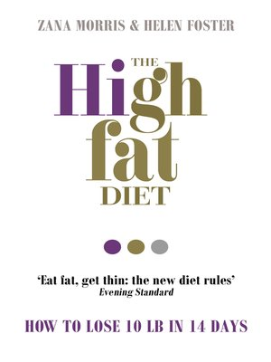 cover image of The High Fat Diet