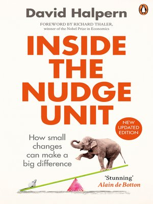 cover image of Inside the Nudge Unit