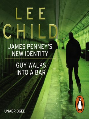 cover image of James Penney's New Identity/Guy Walks Into a Bar