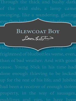 cover image of Blewcoat Boy