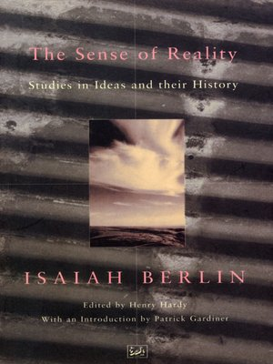 cover image of The Sense of Reality