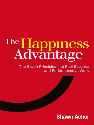 cover image of The Happiness Advantage