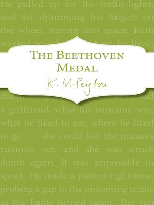 cover image of The Beethoven Medal