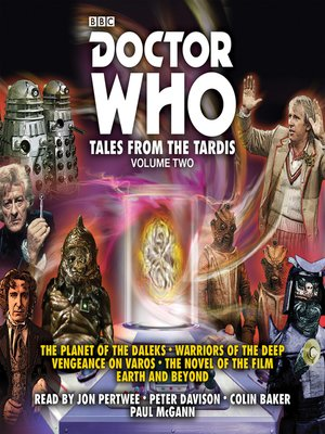 cover image of Doctor Who, Tales from the TARDIS, Volume 2