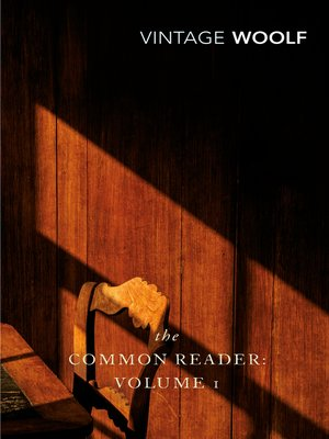 cover image of The Common Reader