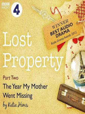 cover image of Lost Property: The Year My Mother Went Missing