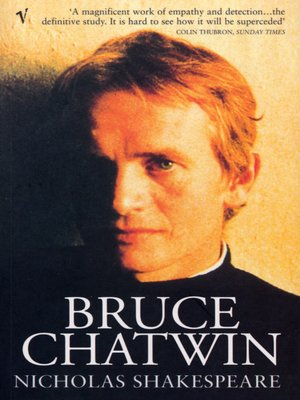 cover image of Bruce Chatwin