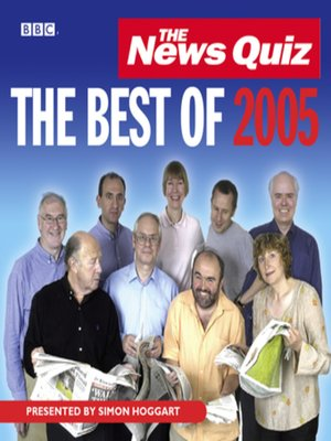 cover image of The News Quiz--The Best of 2005