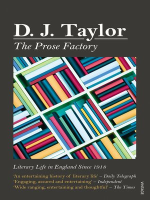 cover image of The Prose Factory