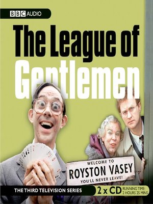 cover image of The League of Gentlemen, Series 3