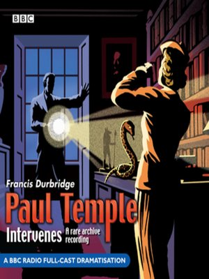 cover image of Paul Temple Intervenes