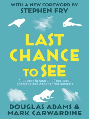 cover image of Last Chance to See