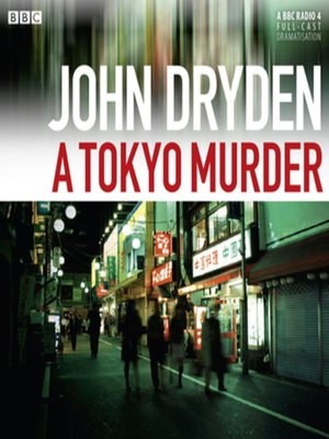 cover image of A Tokyo Murder