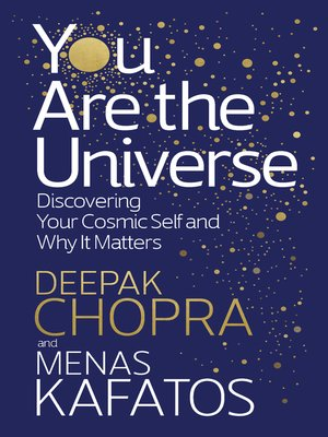 cover image of You Are the Universe